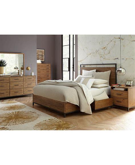 gatlin storage king platform bed created  macys