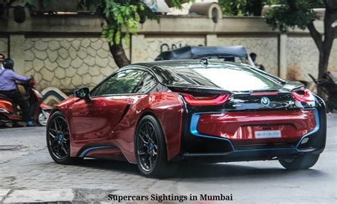 I8 Price In India by Sachin Tendulkar Gets His Bmw I8 Custom Painted To