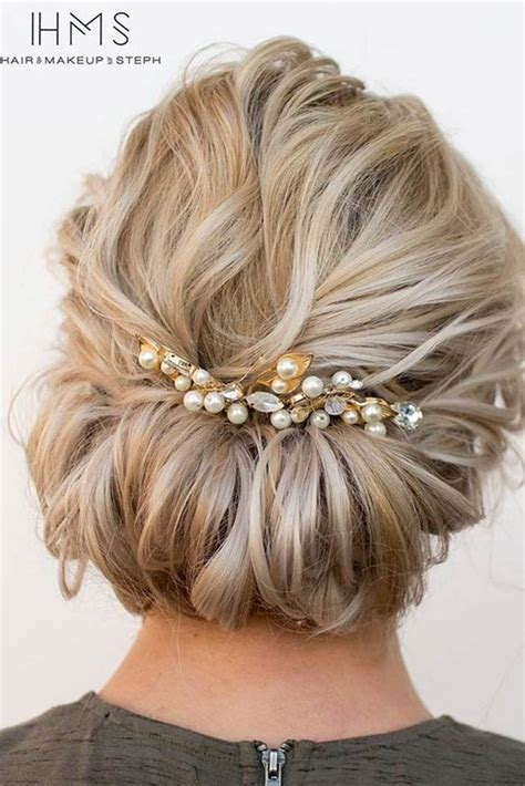 beautiful short hair updo ideas  pinterest short