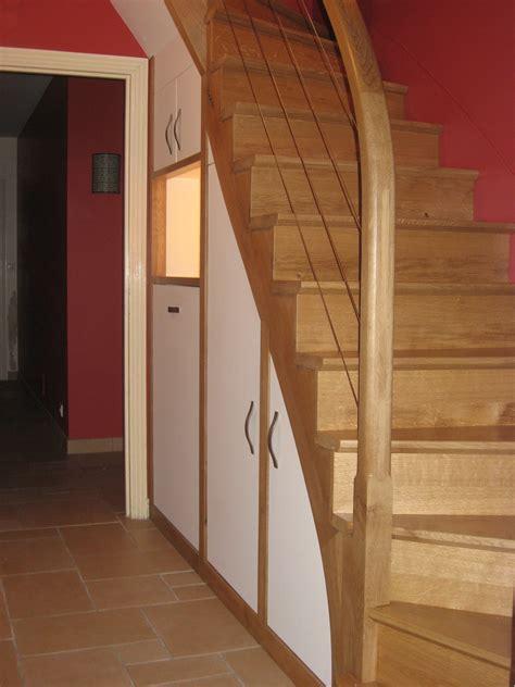 poignee porte de cuisine fabrication placard sur mesure sous pente agencement