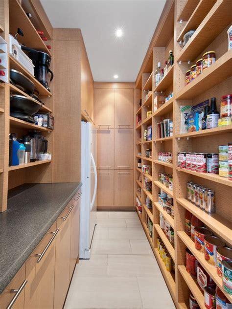 walk  pantry   additional fridge  freezer   nice pantry room pantry design