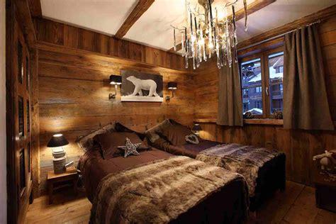 chambre style montagne idée déco chambre style montagne