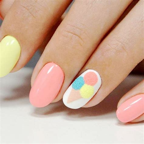 nails summer  design ideas trendy colors  patterns
