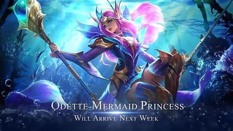 New Odette Skin Merimaid Princess First Look L Mobile
