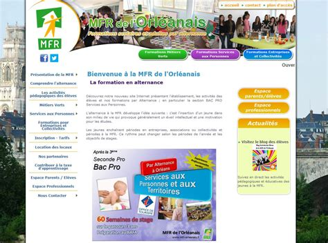 brevet professionnel cuisine fr mfr centre et ile de mfr de l 39 orleanais