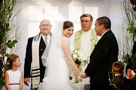 What Happens When A Rabbi And A Priest Officiate As A Duo
