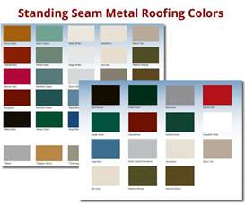 Standing Seam Metal Roof Colors