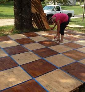 dance floors wedding dance floors and pallets on pinterest With how to make an outdoor wedding dance floor