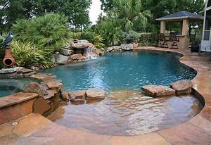 Natural freeform swimming pool design 149 pools for Free form swimming pool designs