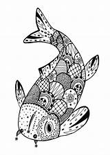 Zentangle Coloring Simple Pages sketch template