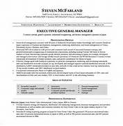 General Resume Templates Manager Resume Template 13 Free Word Excel PDF Format