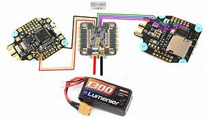 How To Wire A 4 In 1 Esc On Matek F405