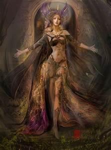 Sisters, Fantasy, Art, On, Behance