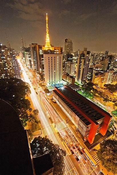 Paulista Avenida Paulo Brasil Sao Janeiro Brazil