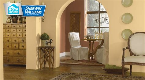 rustic refined paint color collection hgtv home by sherwin williams