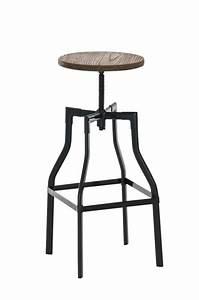 Tabouret De Bar Pivotant : top 10 tabouret de bar industriel ~ Dailycaller-alerts.com Idées de Décoration