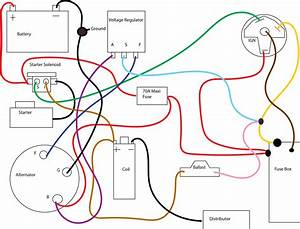 Ford 360 Coil Wiring  Ford  Automotive Wiring Diagrams