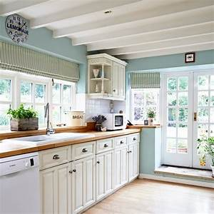 ice blue country kitchen with cream cabinetry With kitchen colors with white cabinets with colorado stickers for car