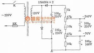 Otl Negative Gate Voltage Doubler Rectifier Circuit  For