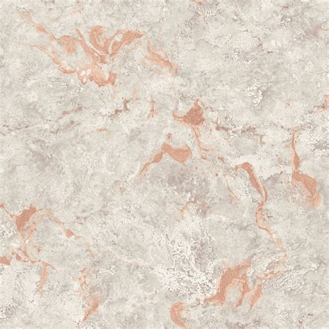 pear tree interiors polished stone rose gold wallpaper