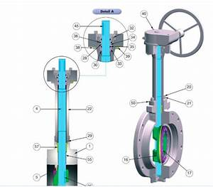 Manual Double Flanged Wafer Type Triple