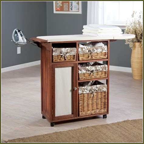 ironing board cabinet with storage ironing board storage cabinet home design ideas