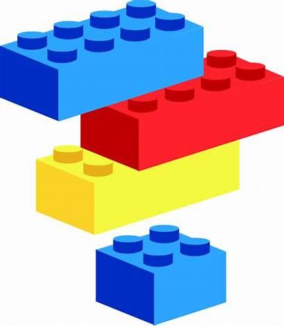 Blocks Lego Clip Clipart Vector Domain Svg