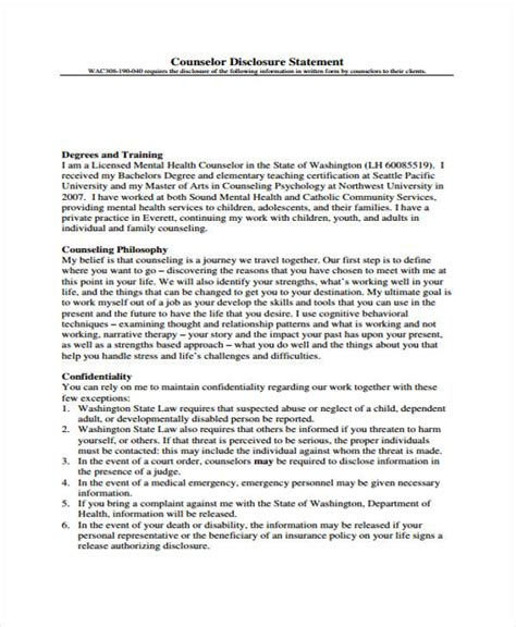 counseling forms   ms word