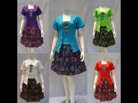 model dress batik natal terbarudress batik kerja