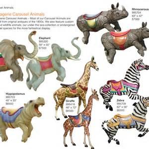 custom baby ornaments dinosaur carousel animals barrango inc