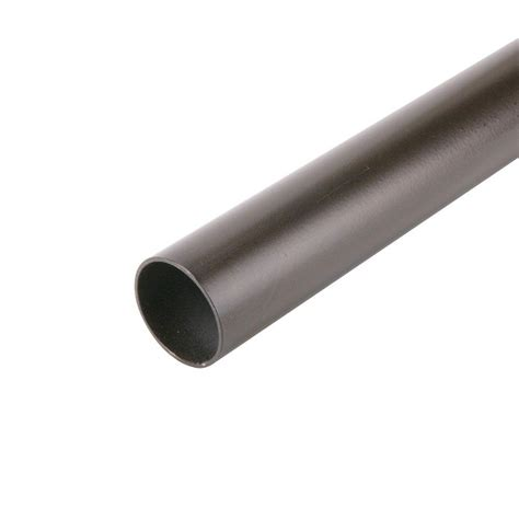 everbilt 72 in x 1 5 16 in heavy duty bronze closet pole