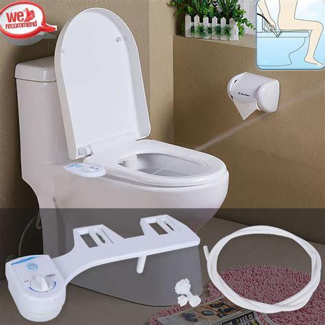 bidet spray for toilet adjust angle nozzle no electric toilet seat attachment