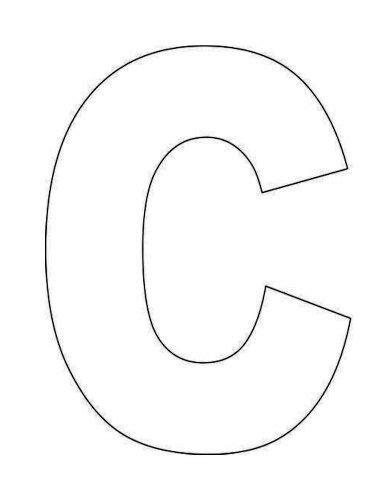 alphabet letter  template  kids kid stuff