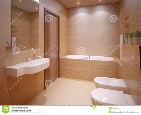 nice bathroom stock illustration image  toilet