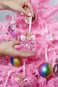 Süßigkeiten Baum Selber Machen : diy einhorn christbaum anh nger selber machen 2 kreative diy anleitungen ~ Orissabook.com Haus und Dekorationen