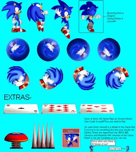 sonic  hedgehog  high quality sonic sprite rips