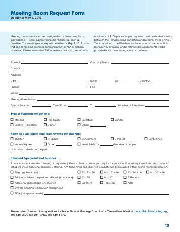 meeting room request form infocomm