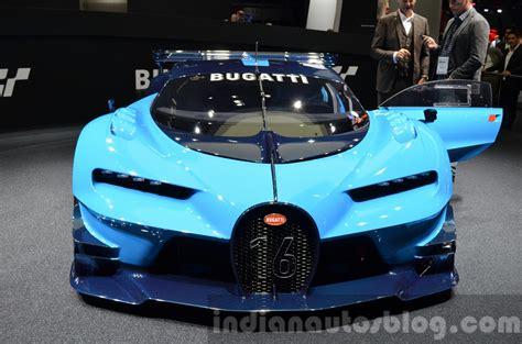 Bugatti gran turismo concept hints design lanuguage for chiron. Bugatti Vision Gran Turismo unveiled at VW Group Night