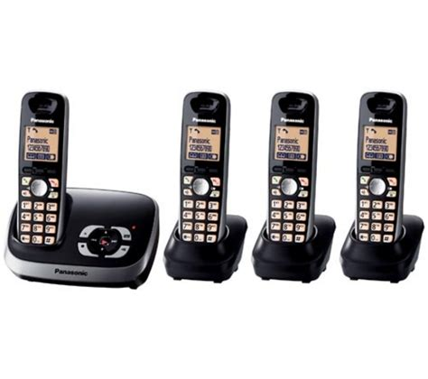 panasonic kxtg6524eb cordless phone review compare prices buy