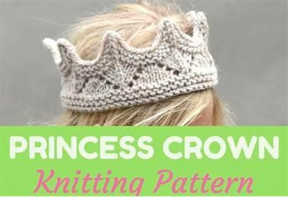 Crown Pattern Knitting Princess Feat Previous