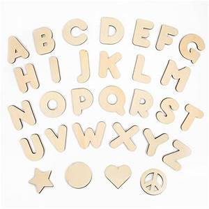 Wooden letters shapes creatify for Wooden letters and shapes