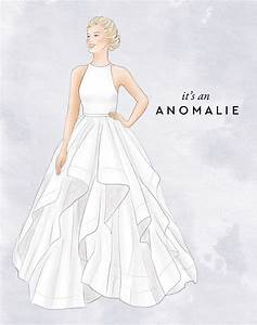 33 best anomalie sketches images on pinterest bridal With anomalie wedding dress