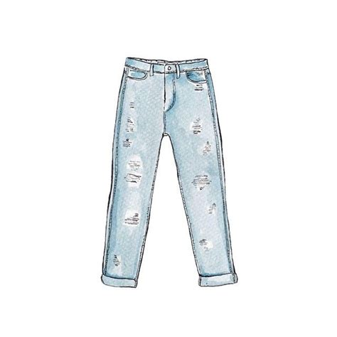 good objects zara light denim ripped jeans watercolor