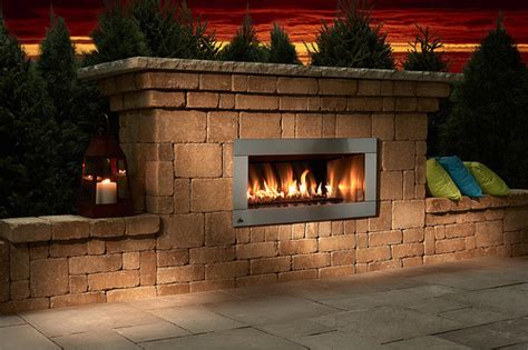 outdoor gas fireplace contemporary outdoor gas fireplace kit