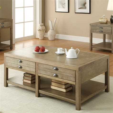 You mean to tell me that people are fluffing their coffee? Loon Peak Copper Mountain Coffee Table & Reviews   Wayfair
