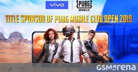 vivo becomes official smartphone provider of pubg mobile open 2019 gsmarena news