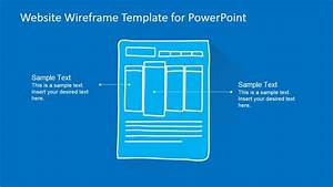 Website Wireframe Template For Powerpoint