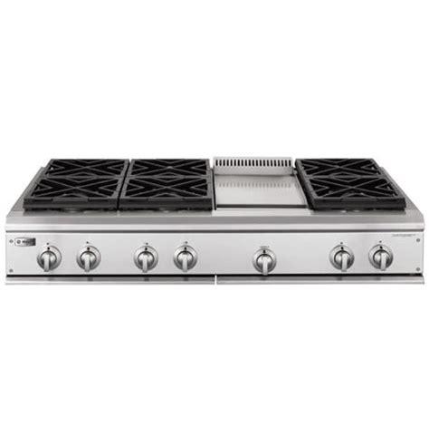 zguldhss ge monogram  professional gas cooktop   burners  griddle liquid