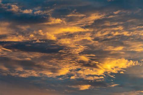 white  blue cloudy sky  stock photo