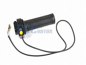 Throttle Handle Grip Kill Switch Set 43cc 47cc 49cc Pocket